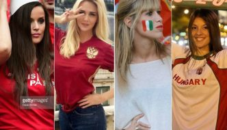 100 Photos of Hot Female Fans In Euro 2016