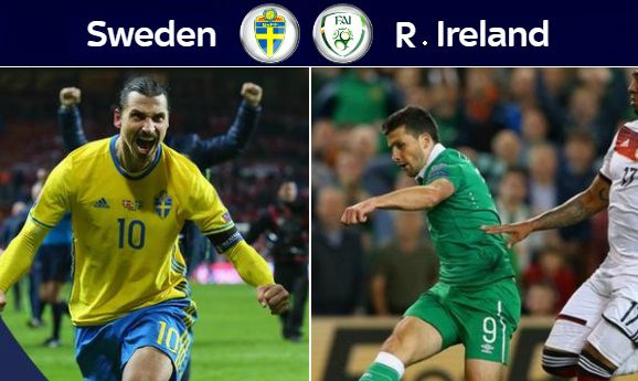 Ireland vs Sweden Highlights