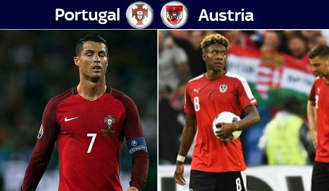 Portugal vs Austria Live Stream Highlights Euro 2016