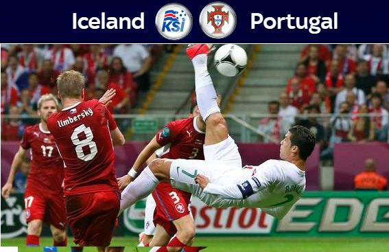 Portugal vs Iceland Highlights 2016 euro