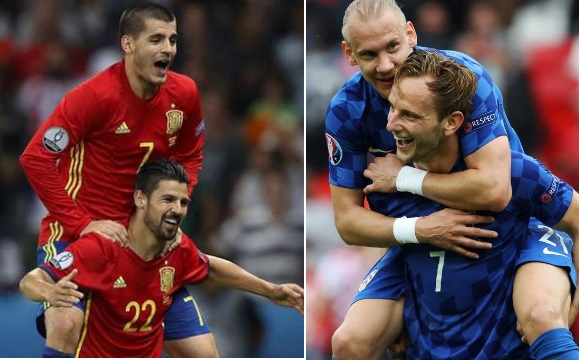 Spain vs Croatia Live Stream Euro 2016