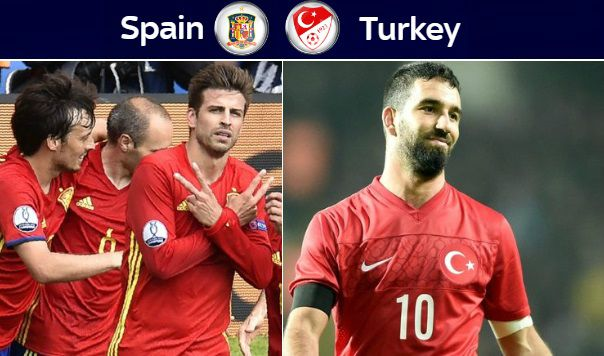 Spain vs Turkey Highlights 2016 Euro