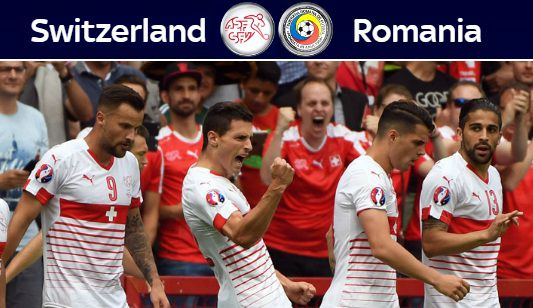 Switzerland vs Romania Highlights 2016