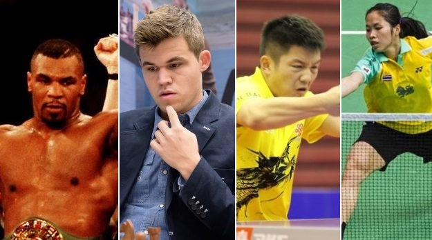 Youngest World Champions in their respective sports
