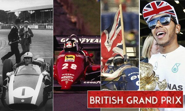 British grand prix F1 interesting facts