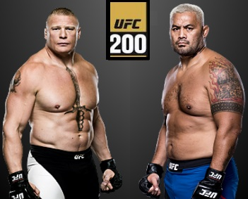 Brock Lesnar vs Mark Hunt Replay Video