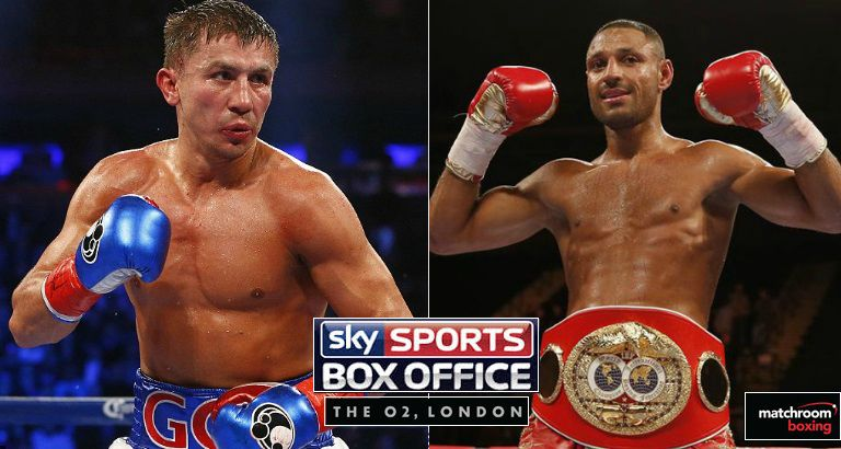 Brook vs Golovkin Live
