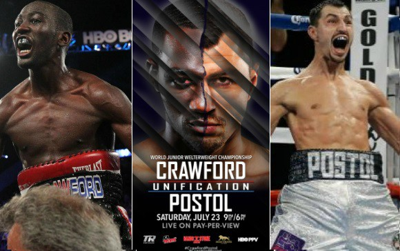 Crawford vs Postol Live Streaming