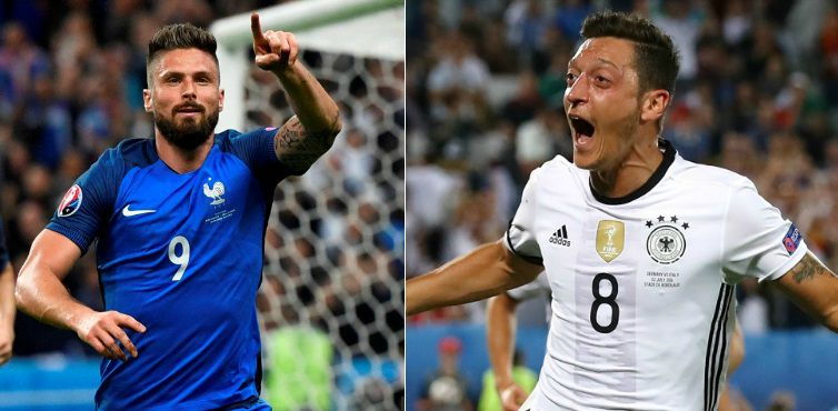 France vs Germany Live & Highlights