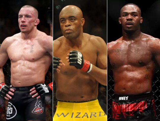 Greatest MMA fighters of all times