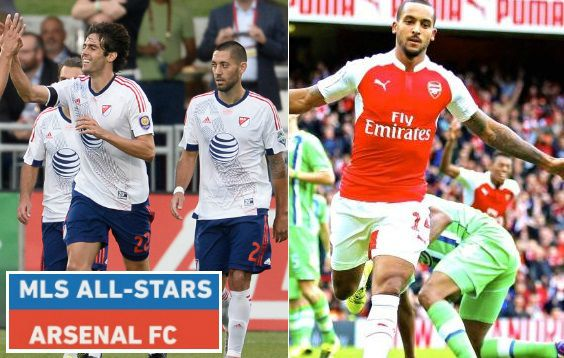 MLS All Stars vs Arsenal Highlights