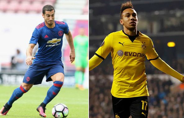 Manchester United vs Borussia Dortmund Highlights 2016 friendly