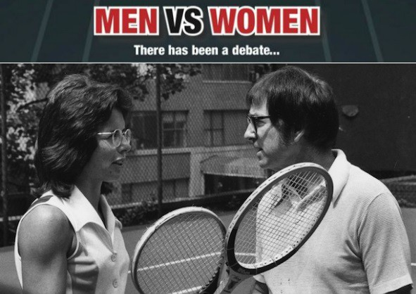 Men vs Women Tennis Matches history