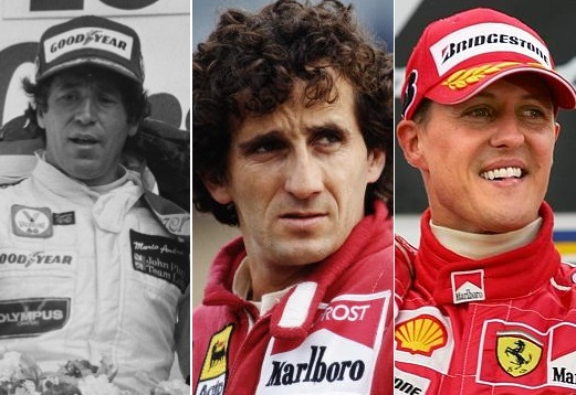 Oldest World Champions in Formula 1