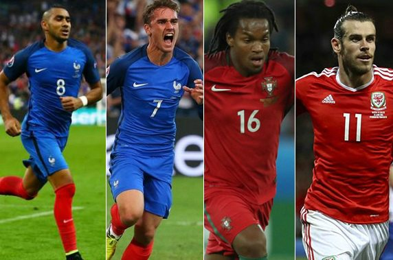 UEFA Euro 2016 player awards revealed