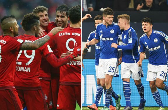 Bayern Munich vs FC Schalke Highlights