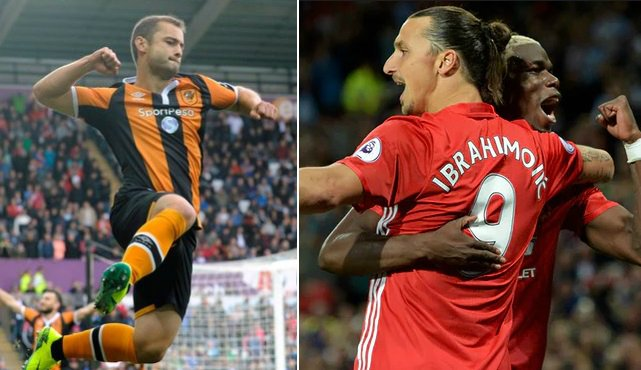 Manchester United vs Hull City Highlights 2016-17