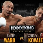 Andre Ward Stops Sergey Kovalev In Round 8 To Win The Rematch Fight