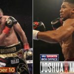 Anthony Joshua defeated Eric Molina with third round knockout (Fight Results & Highlights)