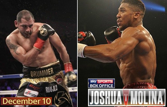 Anthony Joshua Vs Eric Molina Live