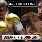 Chris Eubank Jr vs Renold Quinlan Highlights Video (IBO Middleweight Title)