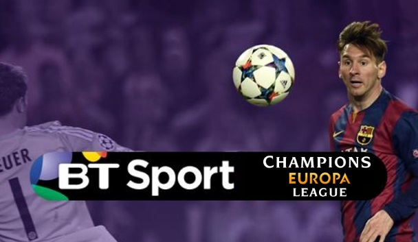 BT Sports new UEFA deal