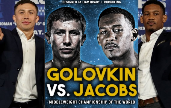 Golovkin vs Jacobs Full Fight Replay Video