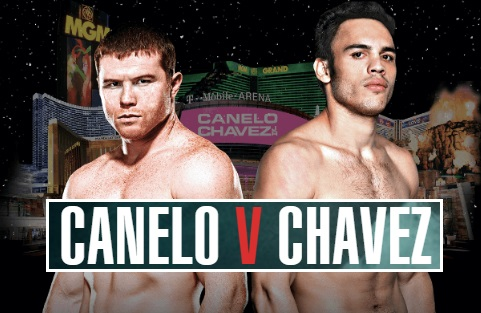 Canelo vs Chavez jr