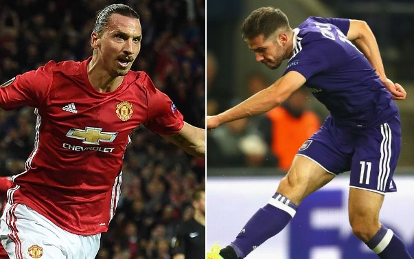 Manchester United vs Anderlecht Highlights