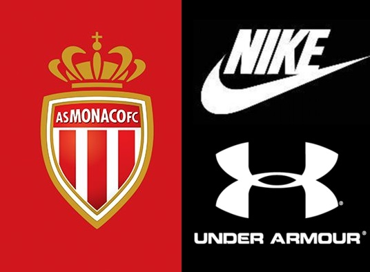 AS Monaco new kit deal with Nike or Under Armour
