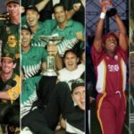 ICC Champions Trophy Past Winners (Australia the most successful team with 2 titles)
