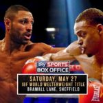 How To Watch Kell Brook vs Errol Spence Live Online ?