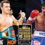 Jeff Horn Stunned Manny Pacquiao To Win WBO Walterweight Title In Brisbane, Australia