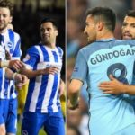 Manchester City 2-0 Brighton Highlights (Aguero strike put City on their way to first win)