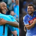 Napoli 2-4 Manchester City Highlights (City come from behind to lead thanks to Aguero strike)