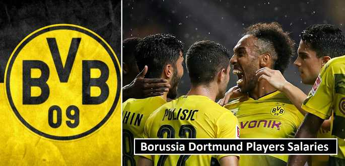 Borussia Dortmund Players Weekly Wages 2018