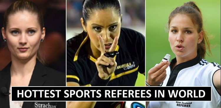 Most Hottest referees in sports female