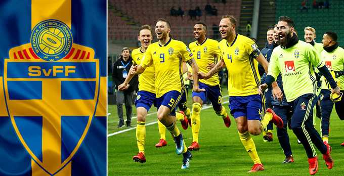 Sweden World Cup 2018 Team Squad