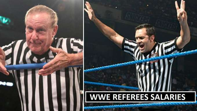 WWE Referees Salaries Contracts 2018