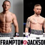 Carl Frampton retains WBO featherweight title after Luke Jackson's corner thrown in the towel
