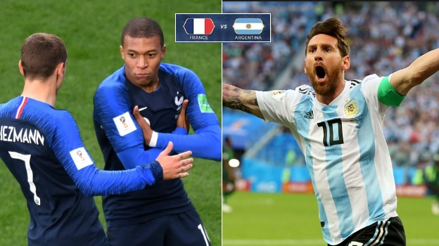 Argentina vs France Live streaming of first knockout match from 2018 FIFA World Cup