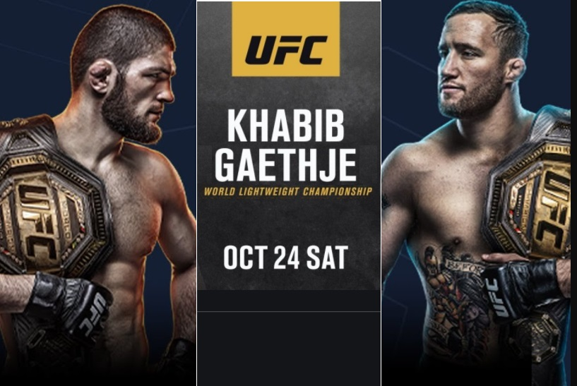 Watch Khabib vs Gaethje