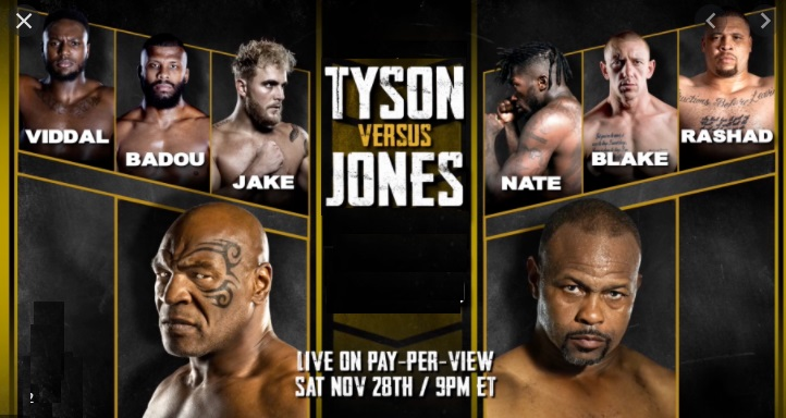 Watch Tyson vs Jones JR